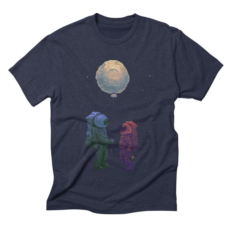 I'd give you the moon... Men's Triblend T-Shirt by Igzell's Artist Shop