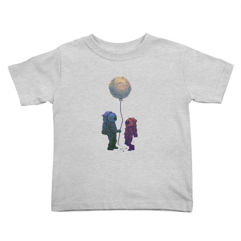 I'd give you the moon... Kids Toddler T-Shirt by Igzell's Artist Shop