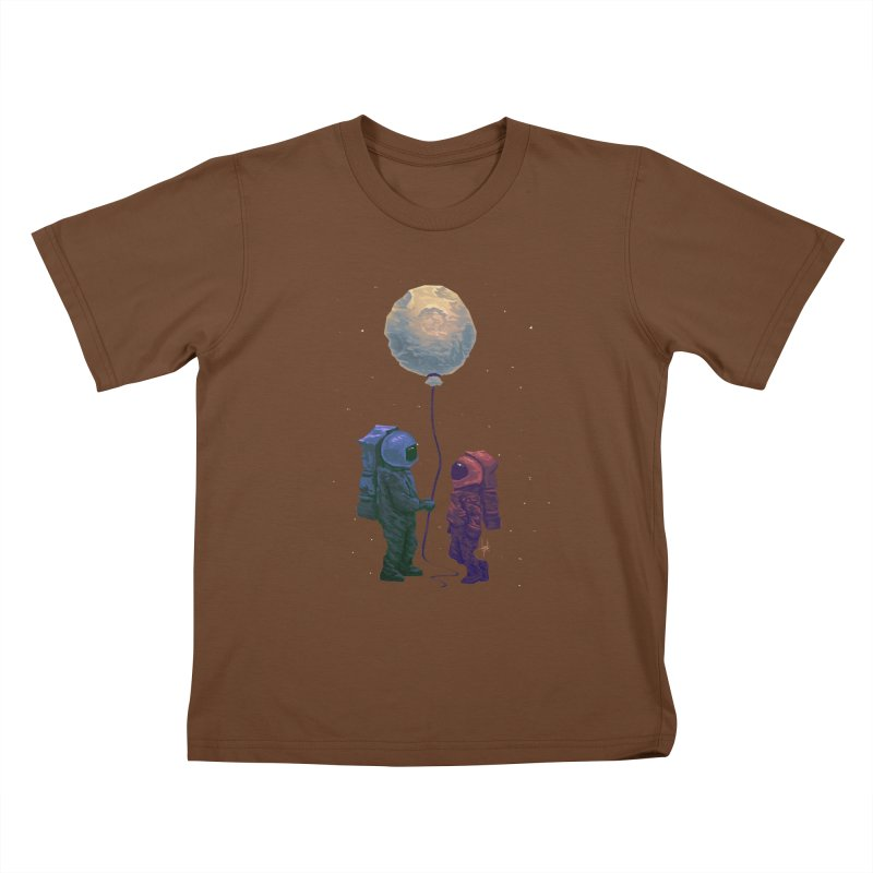I'd give you the moon... Kids T-Shirt by Igzell's Artist Shop