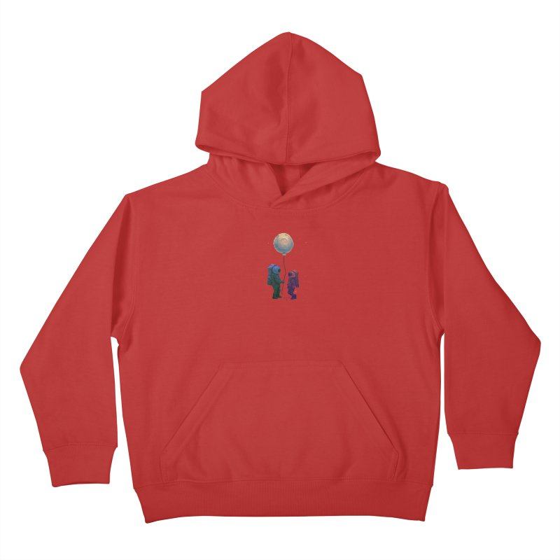 I'd give you the moon... Kids Pullover Hoody by Igzell's Artist Shop