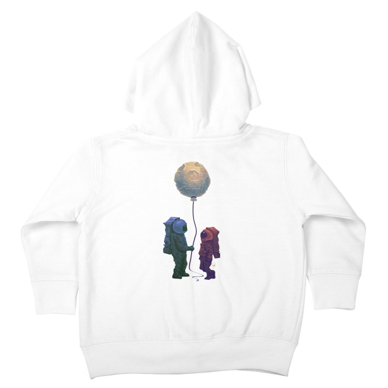 I'd give you the moon... Kids Toddler Zip-Up Hoody by Igzell's Artist Shop