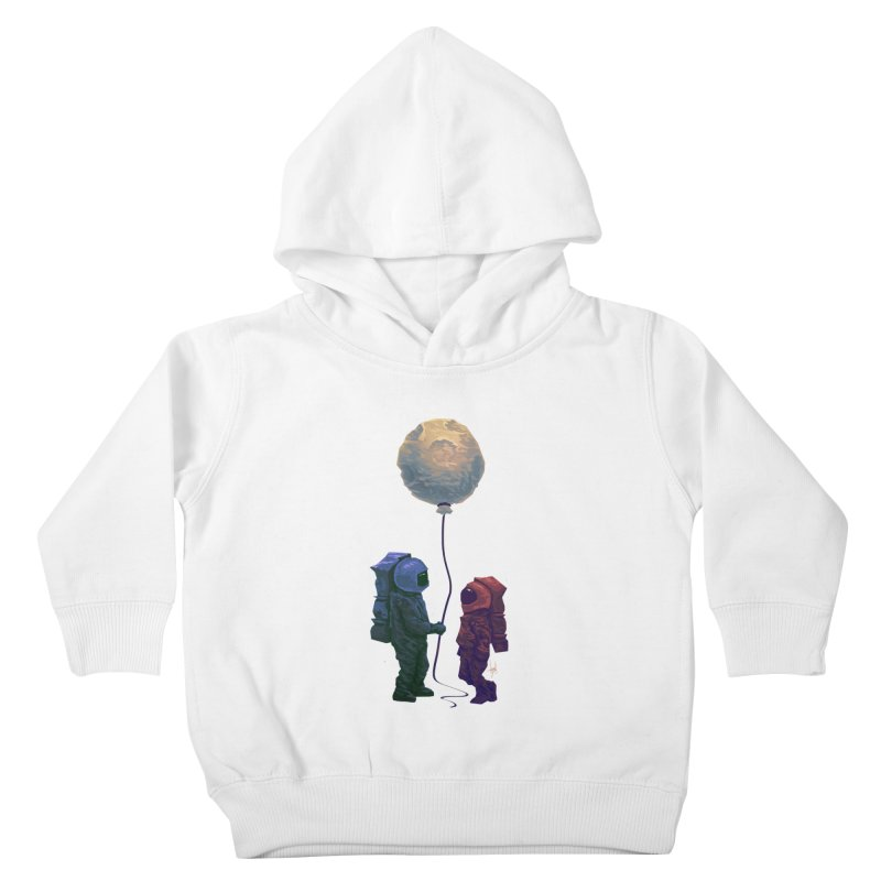 I'd give you the moon... Kids Toddler Pullover Hoody by Igzell's Artist Shop