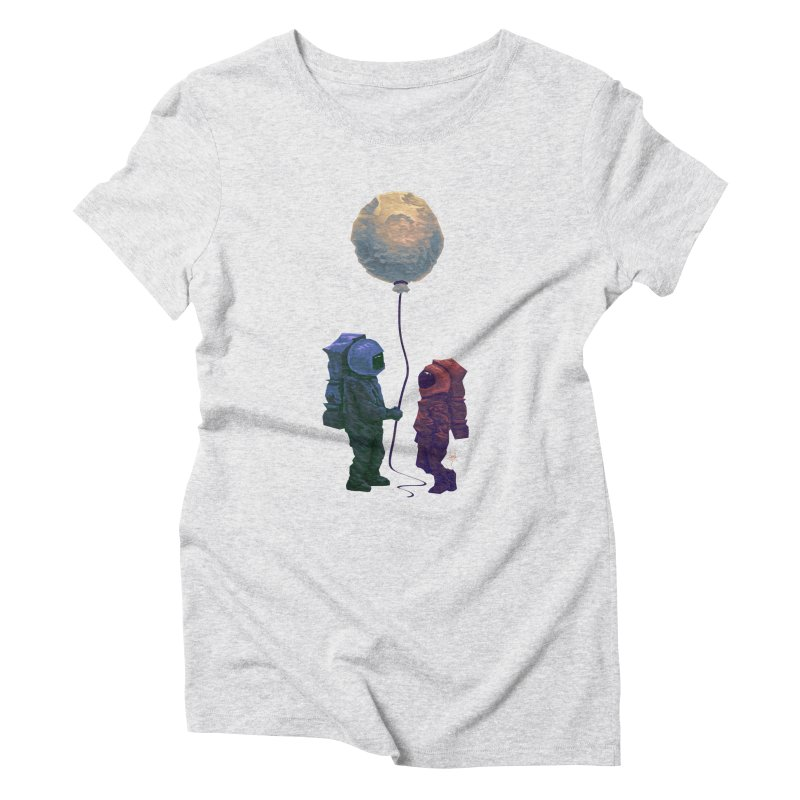 I'd give you the moon... Women's Triblend T-Shirt by Igzell's Artist Shop