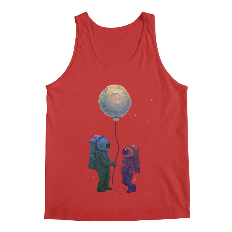 I'd give you the moon... Men's Regular Tank by Igzell's Artist Shop