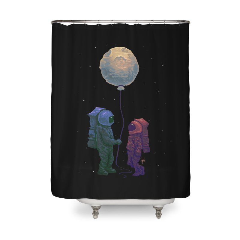 I'd give you the moon... Home Shower Curtain by Igzell's Artist Shop