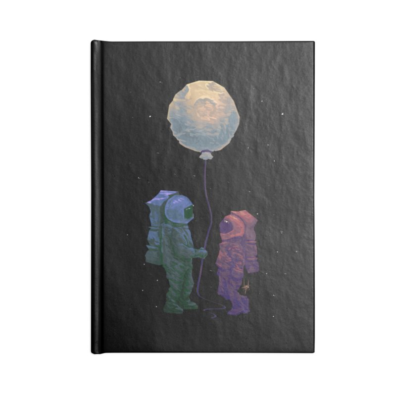 I'd give you the moon... Accessories Blank Journal Notebook by Igzell's Artist Shop