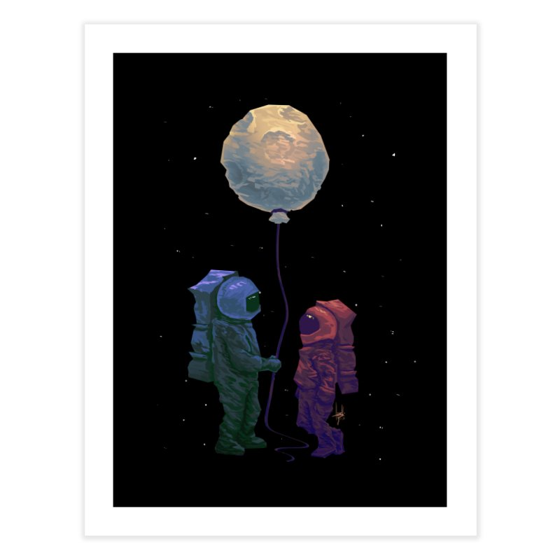 I'd give you the moon... Home Fine Art Print by Igzell's Artist Shop