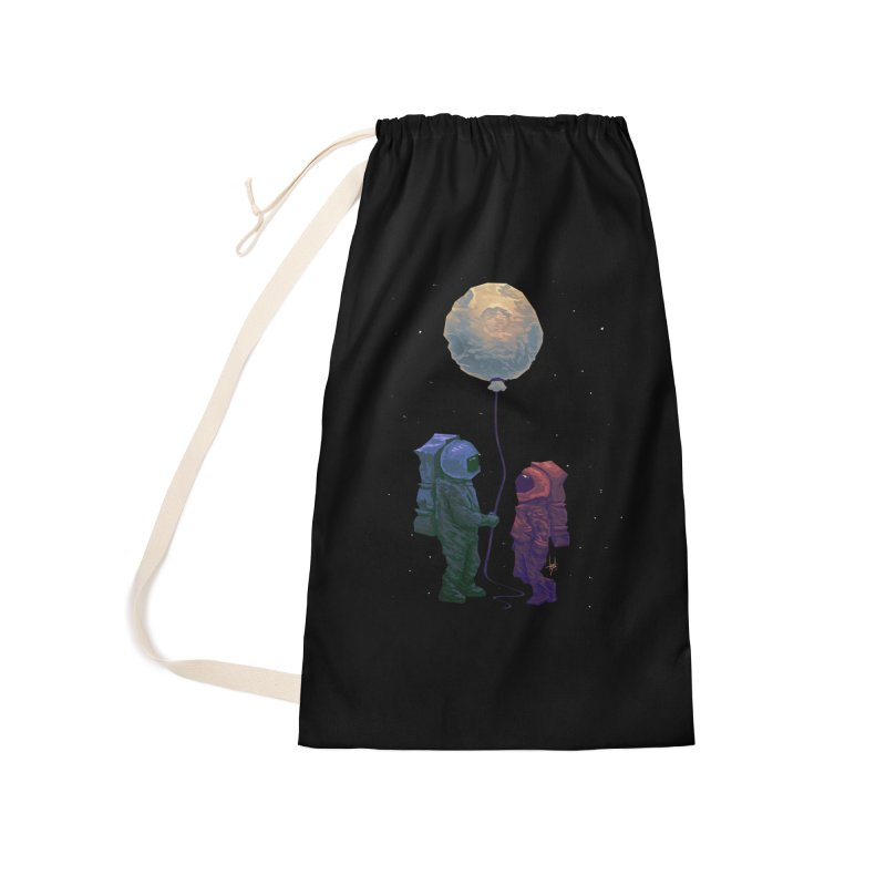 I'd give you the moon... Accessories Laundry Bag Bag by Igzell's Artist Shop