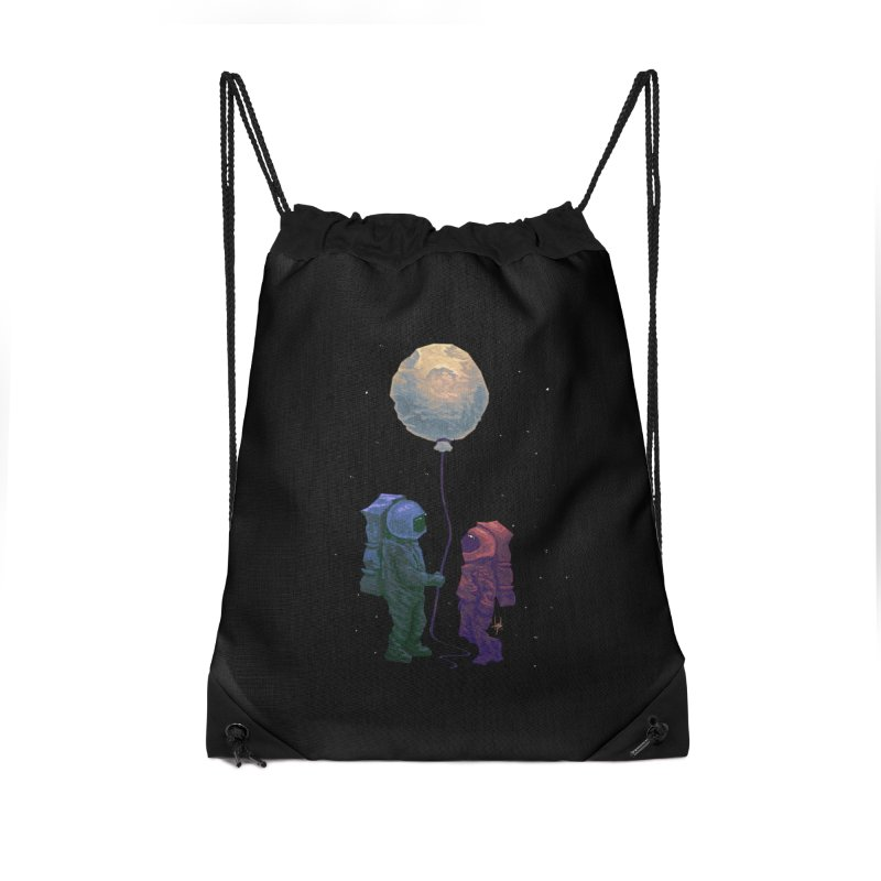 I'd give you the moon... Accessories Drawstring Bag Bag by Igzell's Artist Shop