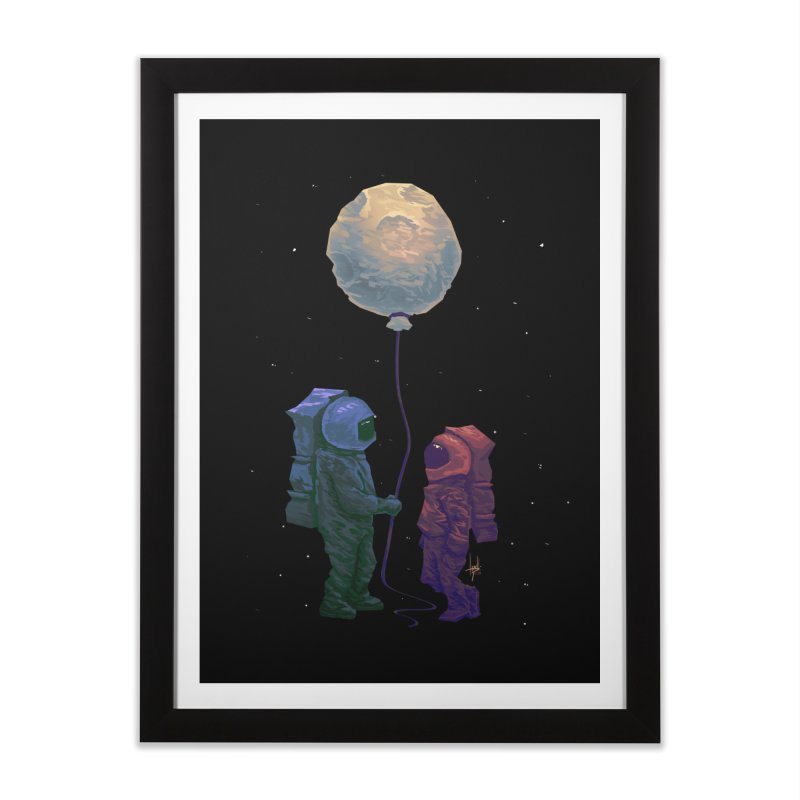 I'd give you the moon... Home Framed Fine Art Print by Igzell's Artist Shop