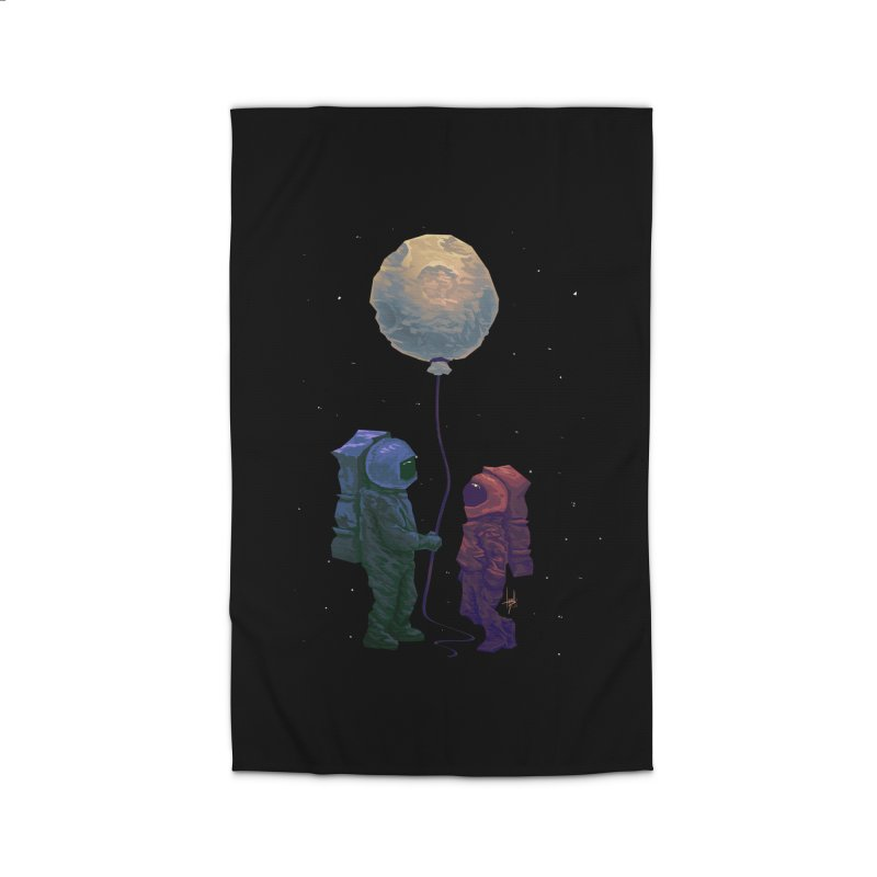 I'd give you the moon... Home Rug by Igzell's Artist Shop