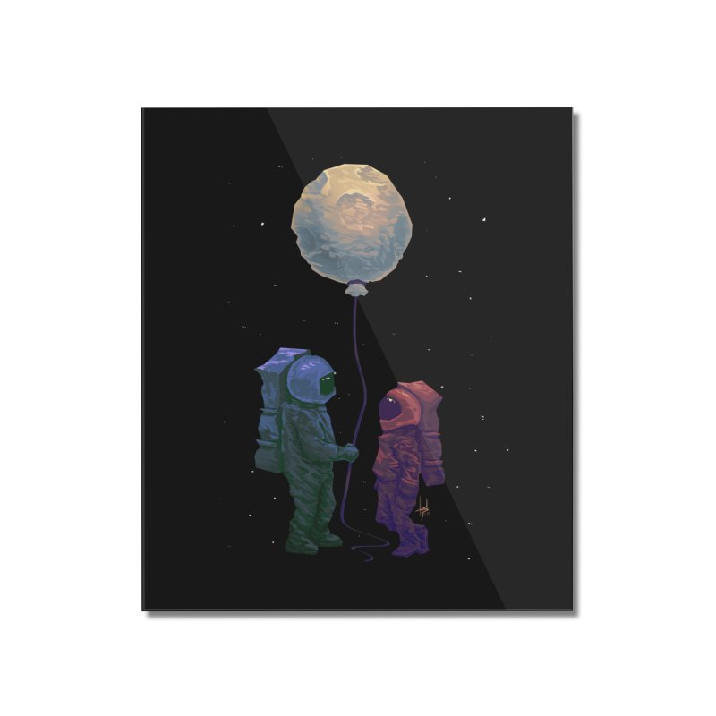 I'd give you the moon... Home Mounted Acrylic Print by Igzell's Artist Shop