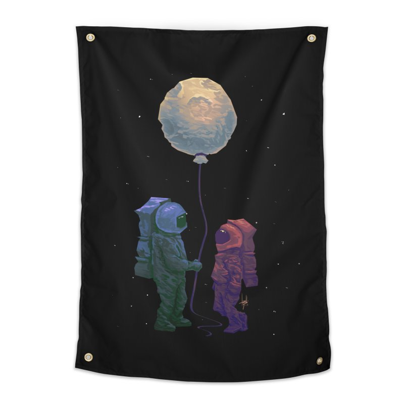 I'd give you the moon... Home Tapestry by Igzell's Artist Shop