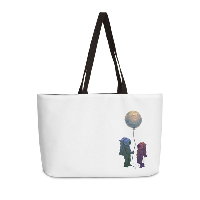 I'd give you the moon... Accessories Weekender Bag Bag by Igzell's Artist Shop