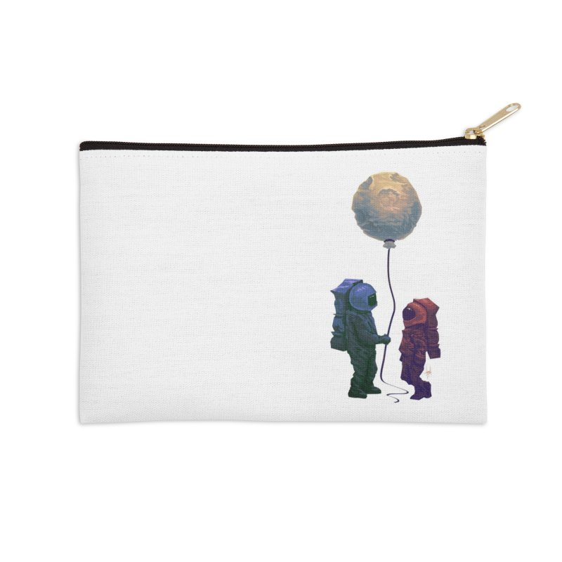 I'd give you the moon... Accessories Zip Pouch by Igzell's Artist Shop
