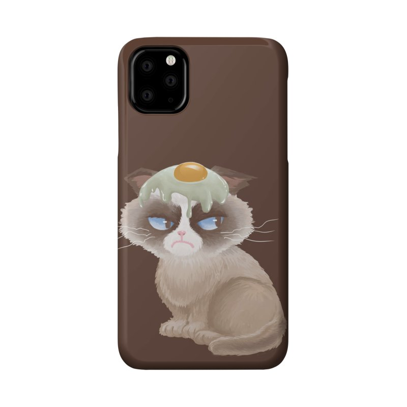 Grumpy cat Accessories Phone Case by Igzell's Artist Shop
