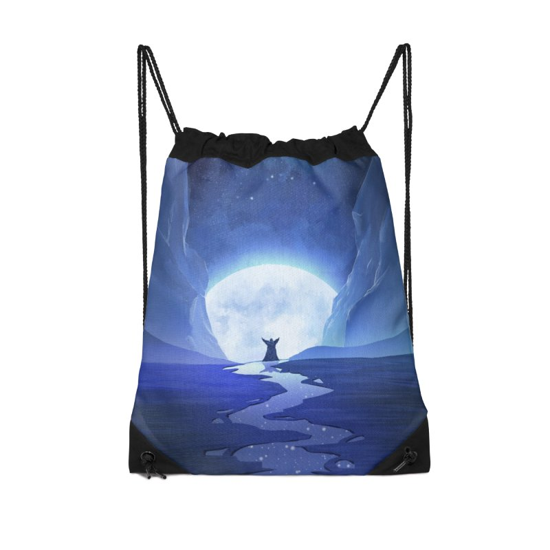 Praying to the old gods. Accessories Drawstring Bag Bag by Igzell's Artist Shop