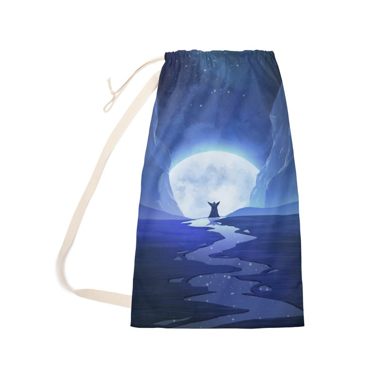 Praying to the old gods. Accessories Laundry Bag Bag by Igzell's Artist Shop