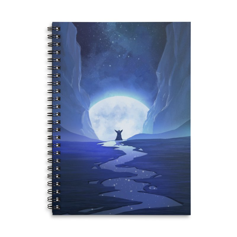 Praying to the old gods. Accessories Lined Spiral Notebook by Igzell's Artist Shop