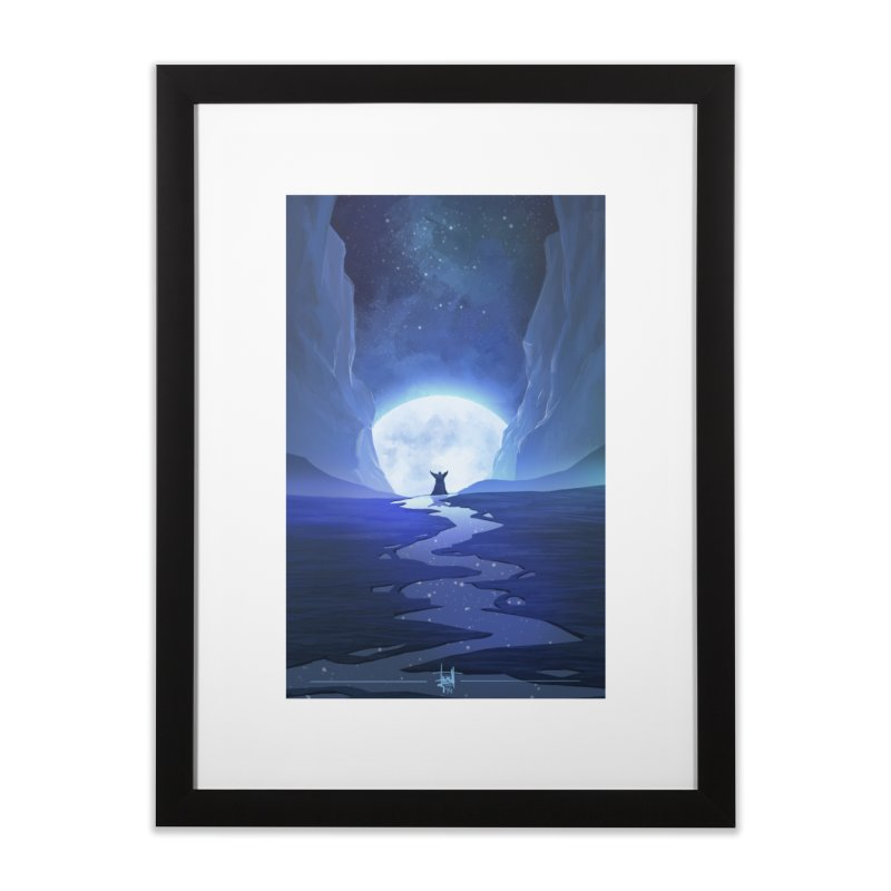 Praying to the old gods. Home Framed Fine Art Print by Igzell's Artist Shop