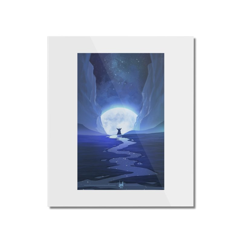 Praying to the old gods. Home Mounted Acrylic Print by Igzell's Artist Shop