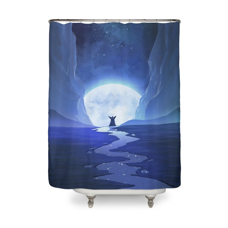 Praying to the old gods. Home Shower Curtain by Igzell's Artist Shop