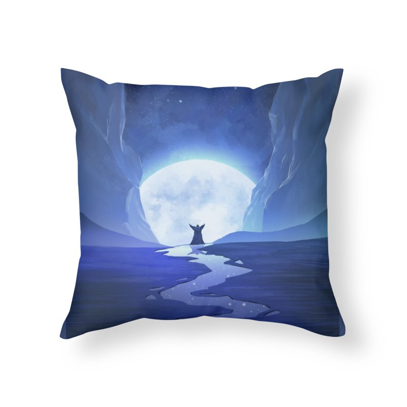 Praying to the old gods. Home Throw Pillow by Igzell's Artist Shop