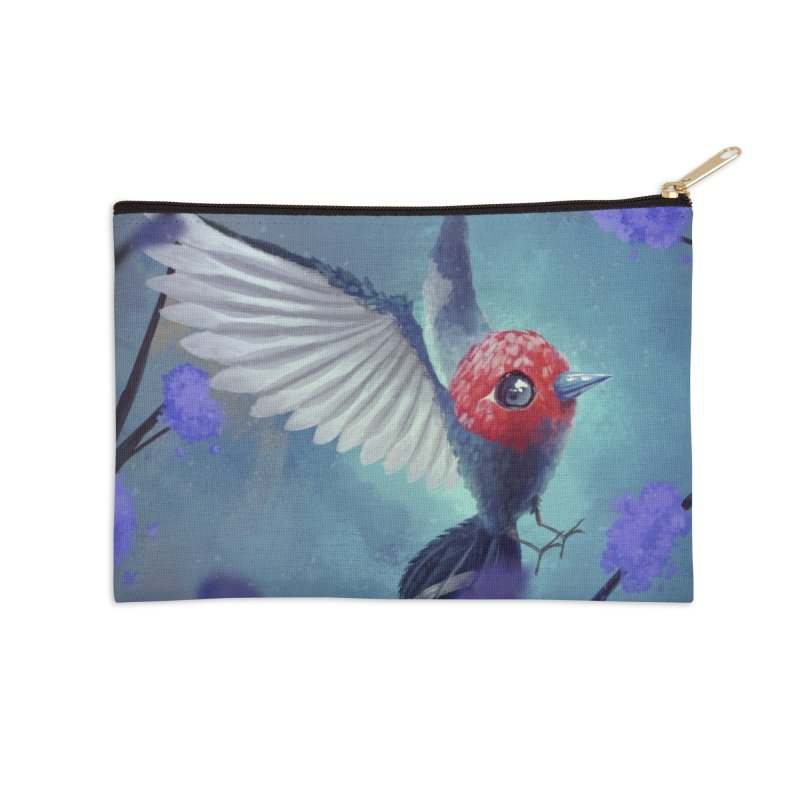 Fletchling Accessories Zip Pouch by Igzell's Artist Shop