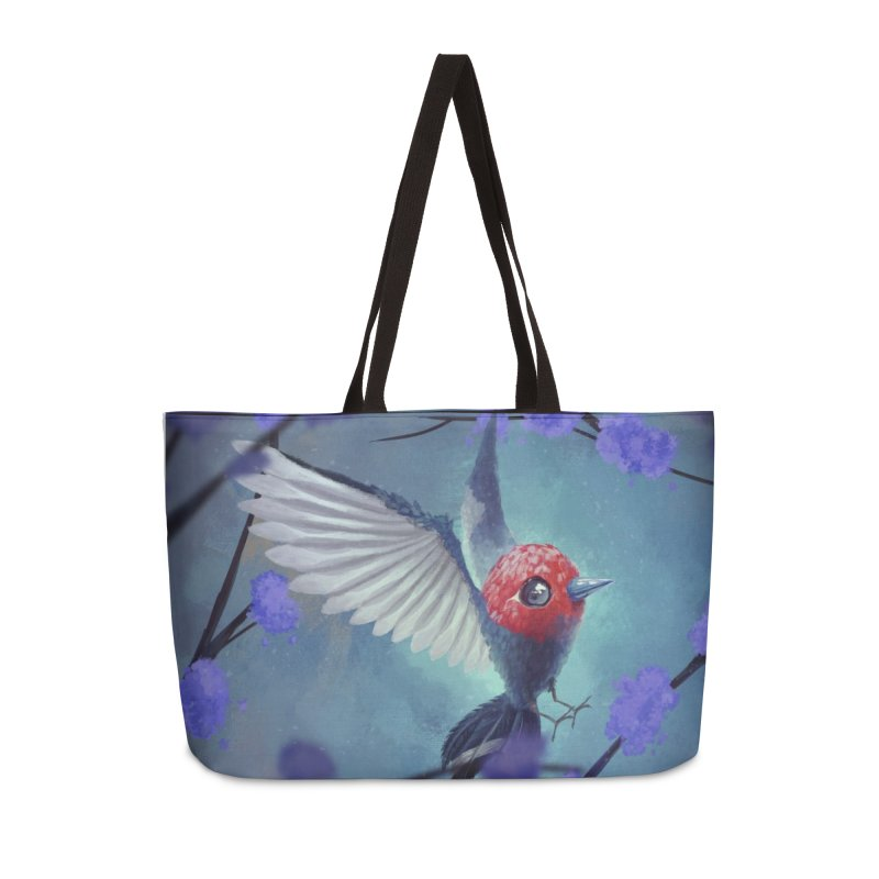 Fletchling Accessories Weekender Bag Bag by Igzell's Artist Shop