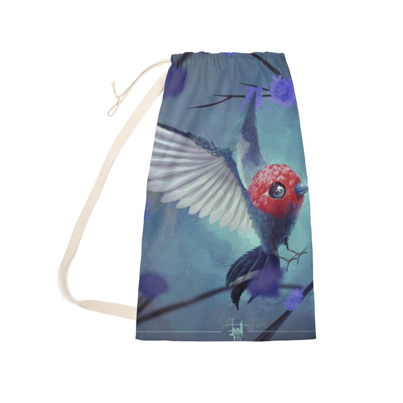 Fletchling Accessories Laundry Bag Bag by Igzell's Artist Shop