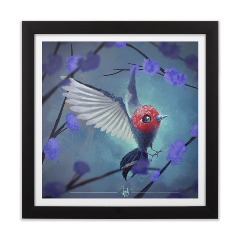 Fletchling Home Framed Fine Art Print by Igzell's Artist Shop