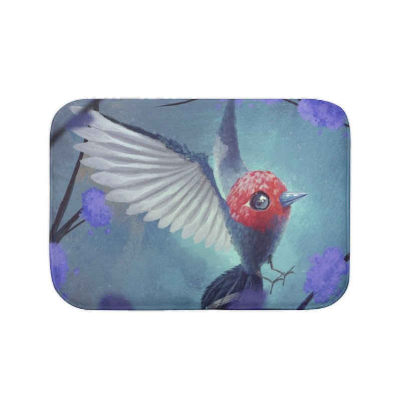 Fletchling Home Bath Mat by Igzell's Artist Shop