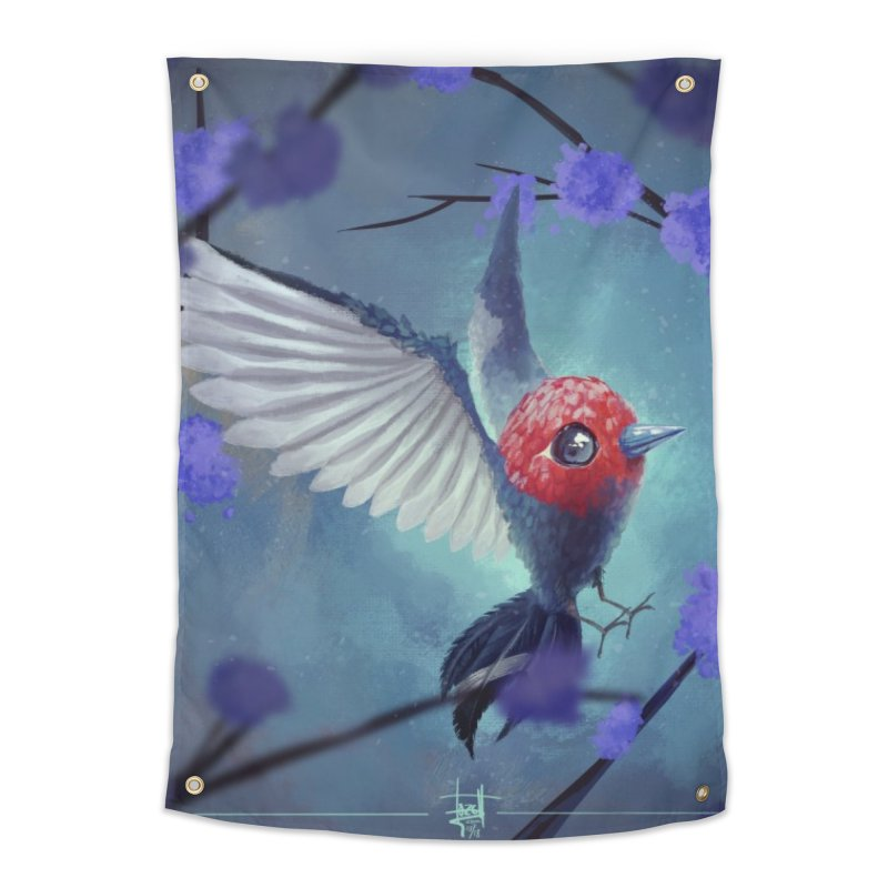 Fletchling Home Tapestry by Igzell's Artist Shop