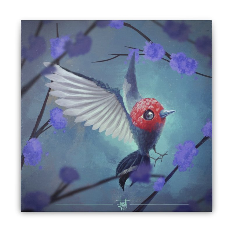 Fletchling Home Stretched Canvas by Igzell's Artist Shop