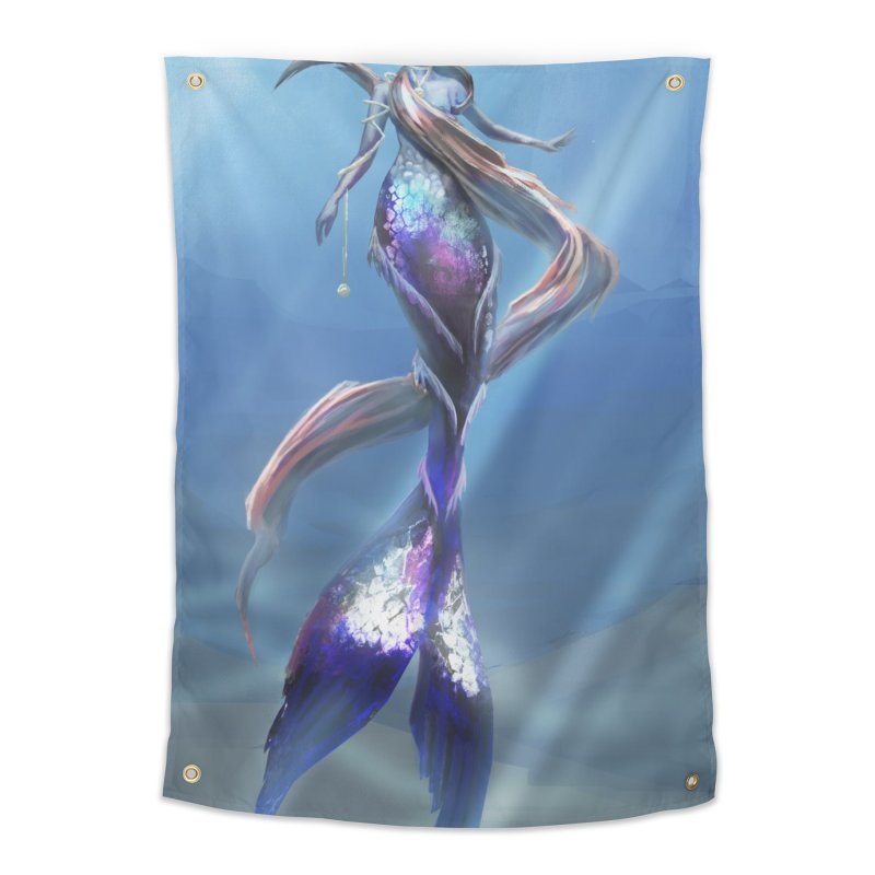 Mermay Home Tapestry by Igzell's Artist Shop