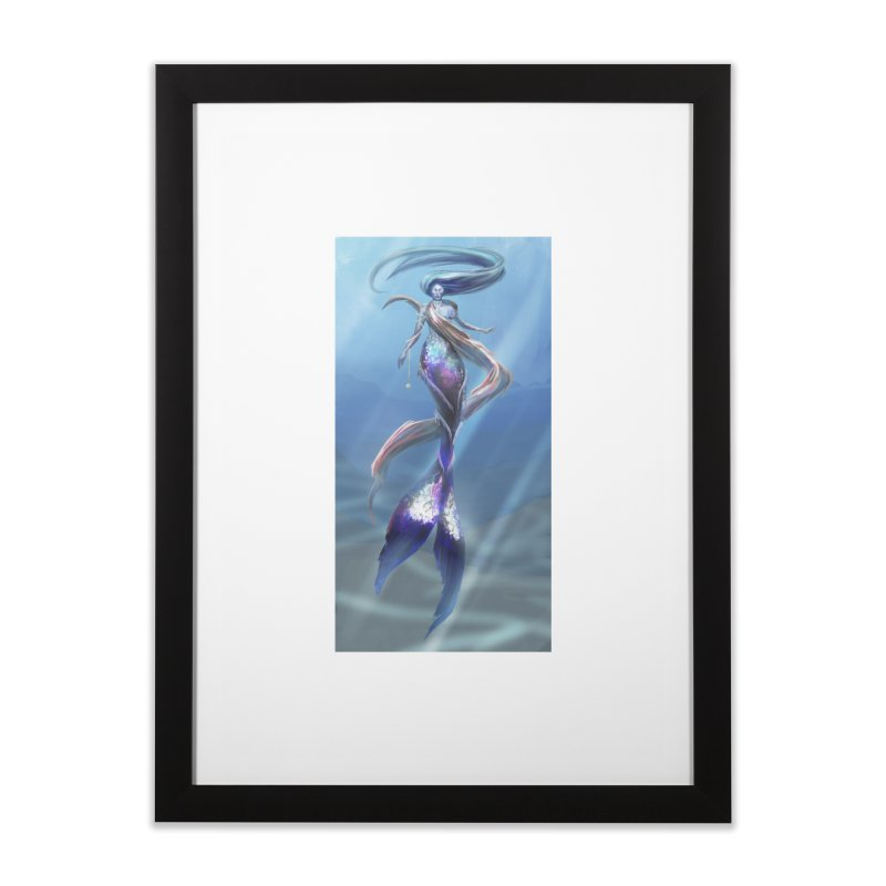 Mermay Home Framed Fine Art Print by Igzell's Artist Shop