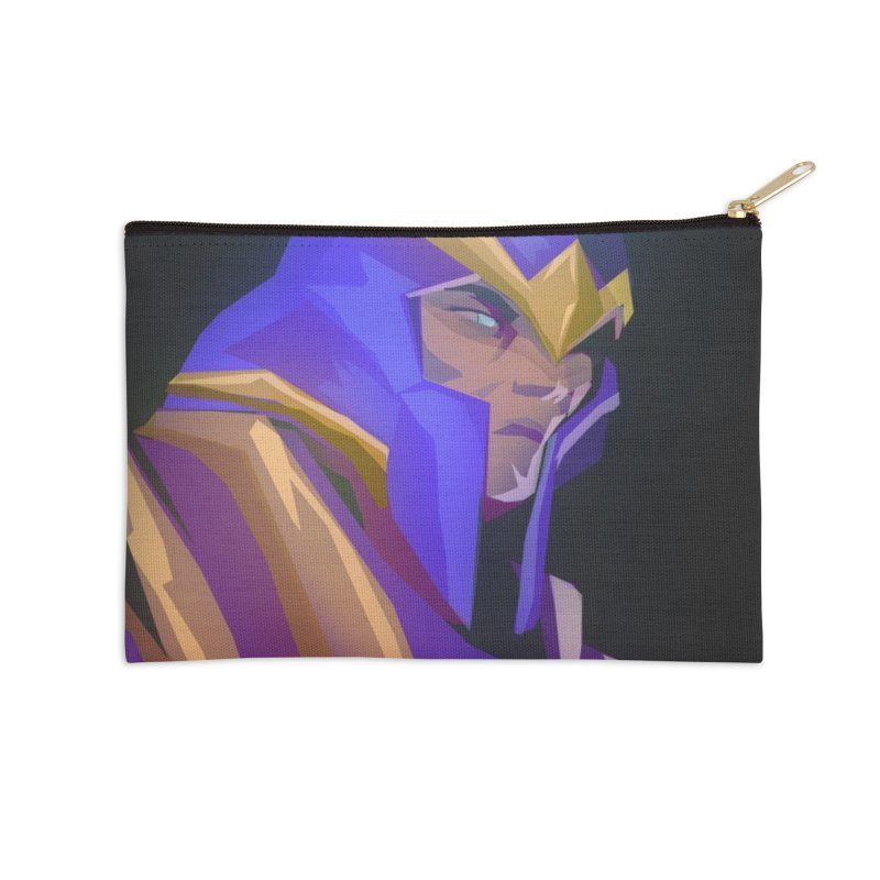 Silencer Accessories Zip Pouch by Igzell's Artist Shop