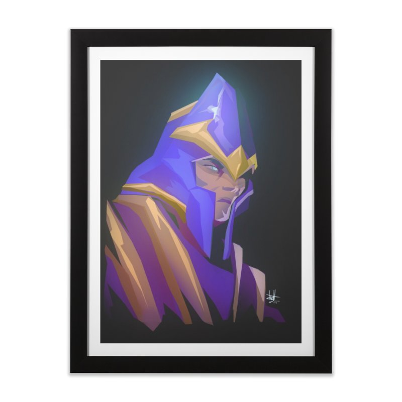 Silencer Home Framed Fine Art Print by Igzell's Artist Shop