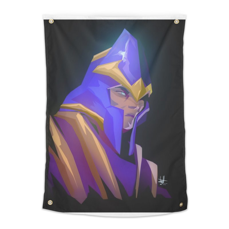 Silencer Home Tapestry by Igzell's Artist Shop