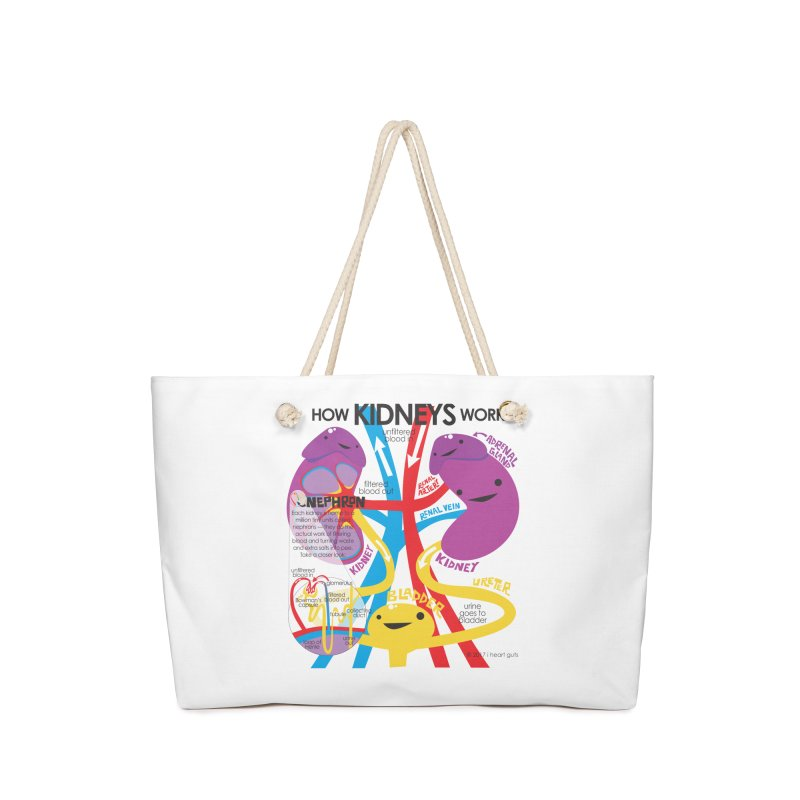 How Kidneys Work Accessories Bag by I Heart Guts