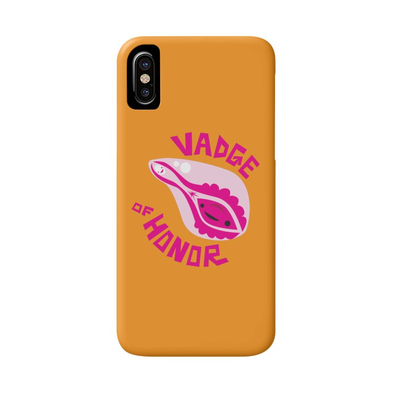 Vadge of Honor Accessories Phone Case by I Heart Guts