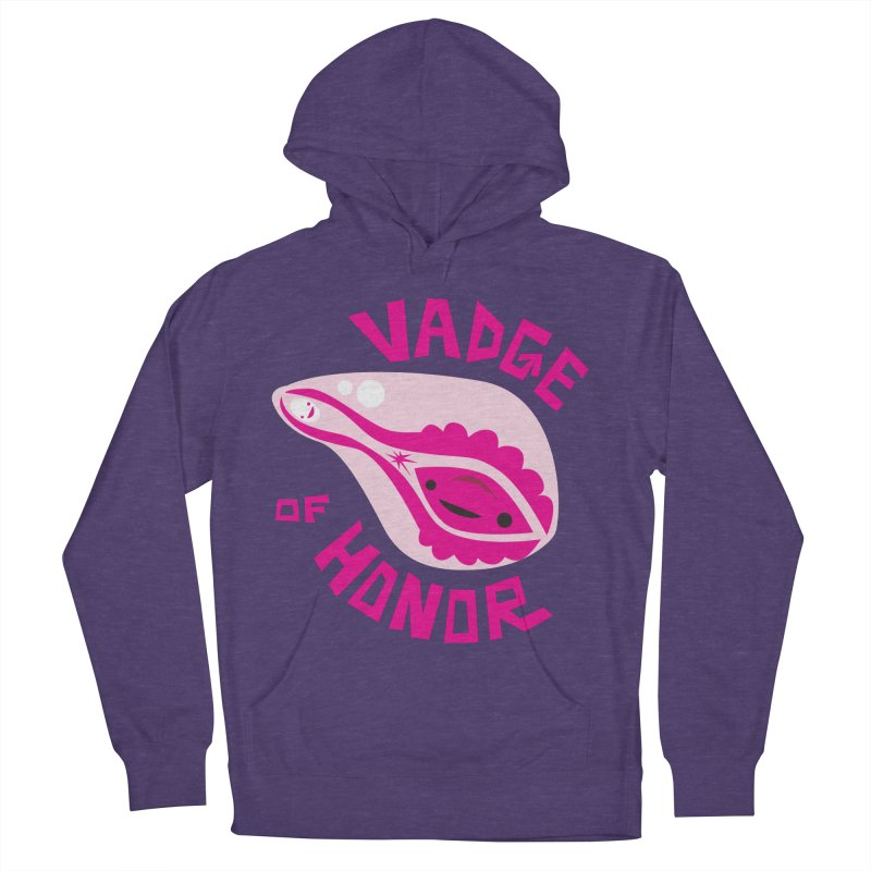 Vadge of Honor Men's Pullover Hoody by I Heart Guts