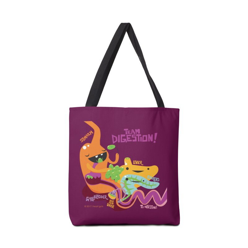 Team Digestion! Accessories Tote Bag Bag by I Heart Guts