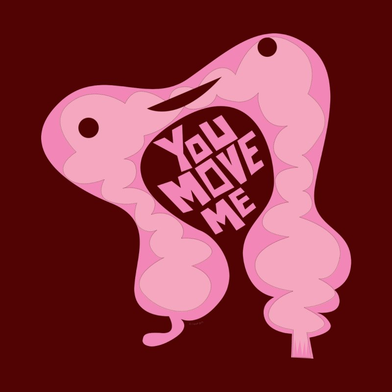 Colon - You Move Me Men's T-Shirt by I Heart Guts