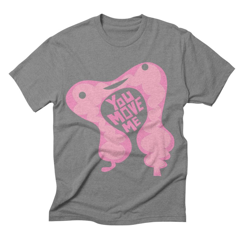 Colon - You Move Me Men's Triblend T-shirt by I Heart Guts