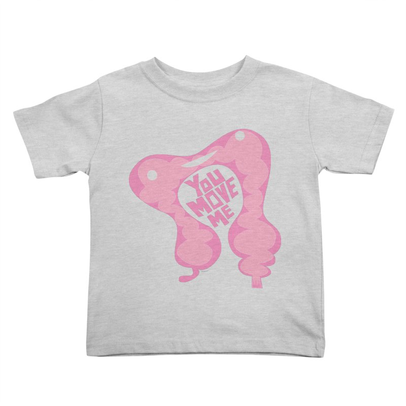 Colon - You Move Me Kids Toddler T-Shirt by I Heart Guts