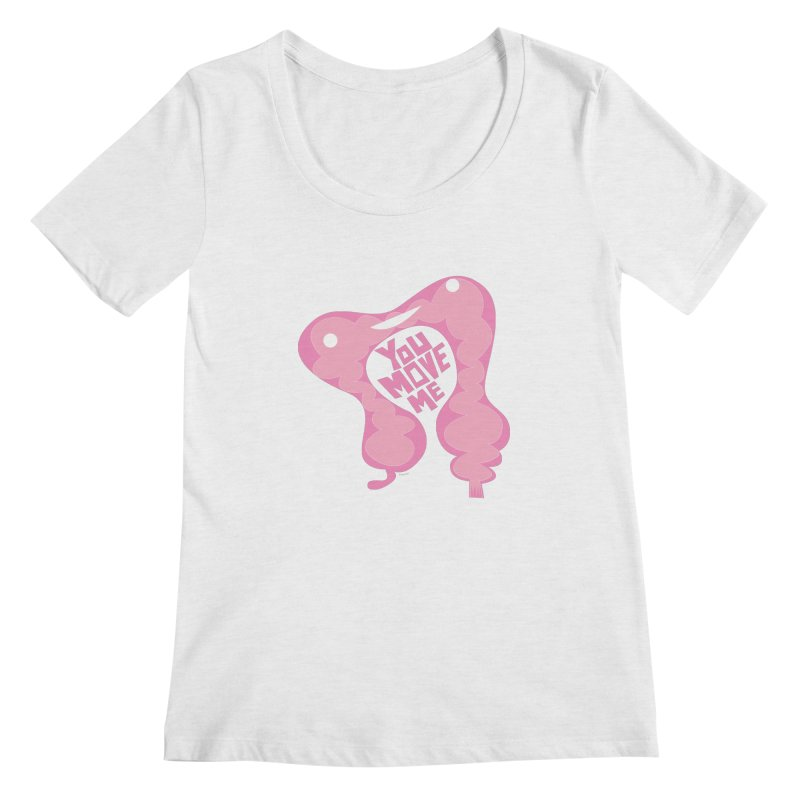 Colon - You Move Me Women's Scoopneck by I Heart Guts
