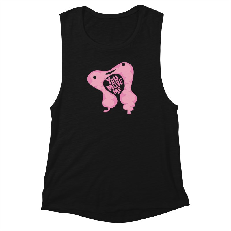 Colon - You Move Me Women's Muscle Tank by I Heart Guts