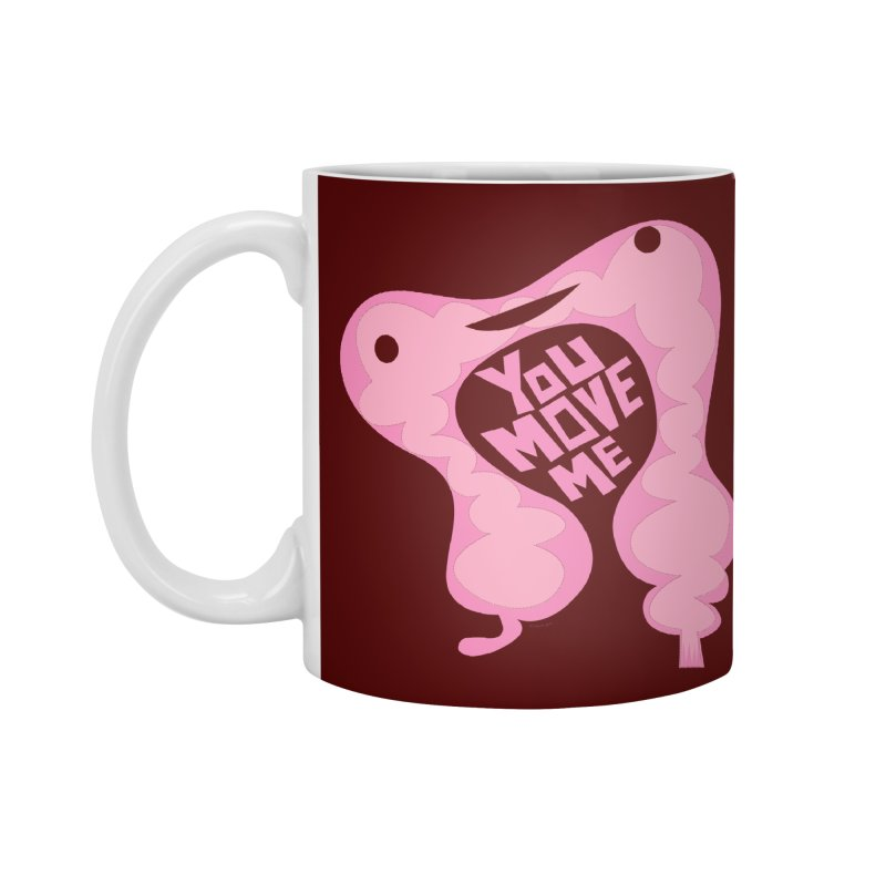 Colon - You Move Me in Standard Mug White by I Heart Guts