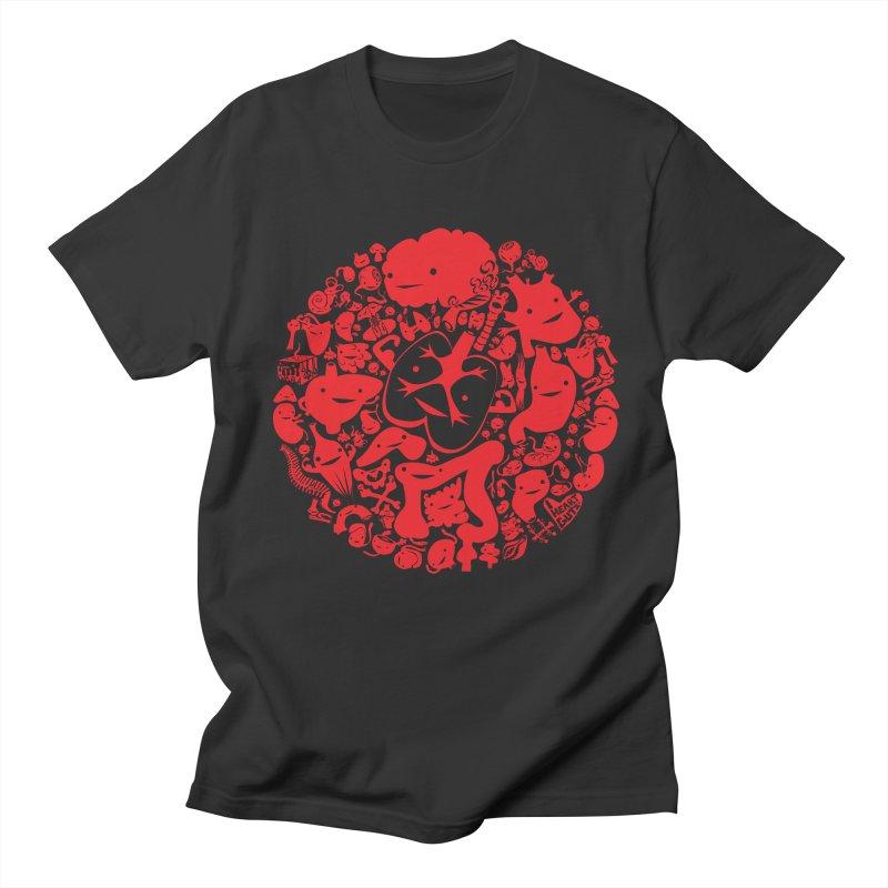 Circle of Guts Men's T-shirt by I Heart Guts